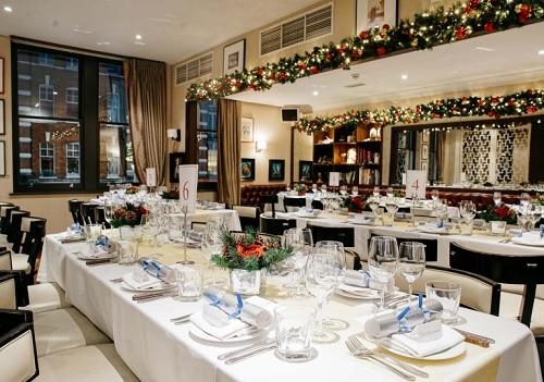 A Beaufort House Christmas Party London - Best Venues London