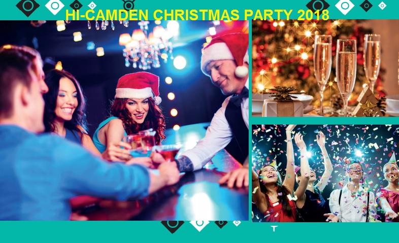 A HI-Camden Christmas Party 2018 - Best Venues London