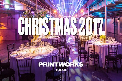 A Printworks Christmas Party - Best Venues London
