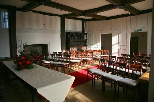 Barn Wedding Venue At Blakesley Hall