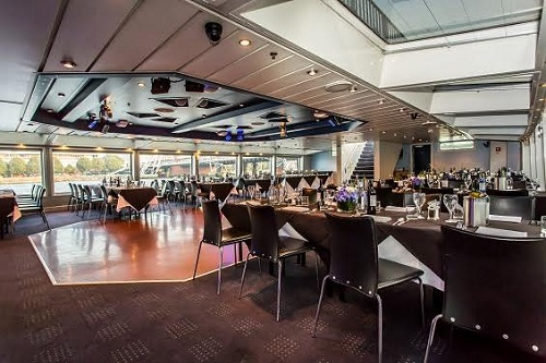 Bateaux London Harmony Main Dining Area