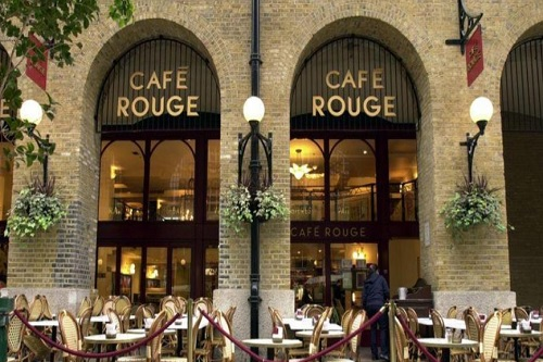 Book The Café Rouge Hays Galleria London - Best Venues London
