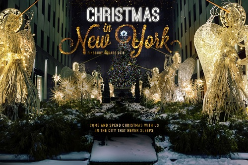 Celebrate Christmas in New York! Party Package London - Best Venues London