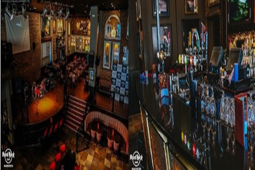 Christmas At Hard Rock Cafe Manchester - Pic Copyright - Hard Rock Cafe Manchester