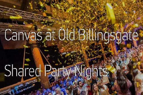 Christmas At Old Billingsgate - Shared Party Night - Best Venues London