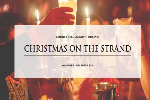 Christmas on the Strand - Best Venues London