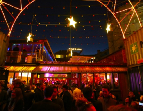 Dinerama Shoreditch - Venue Hire - Best Venues London