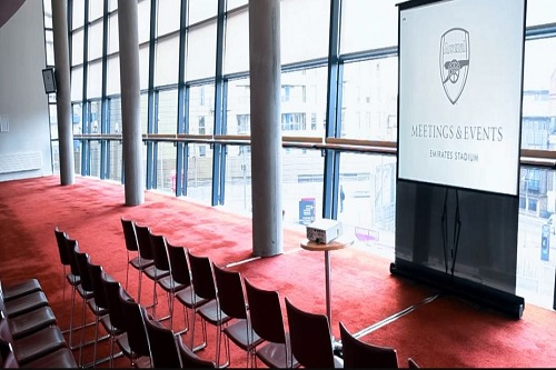 Emirates Stadium Venue Hire - Best Venues London