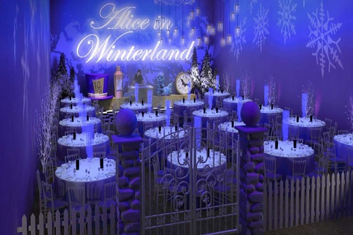 Experience An Alice In Winterland Christmas Party - Best Venues London