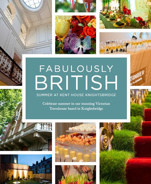 Fabulously British - Summer At Kent House Knightsbridge