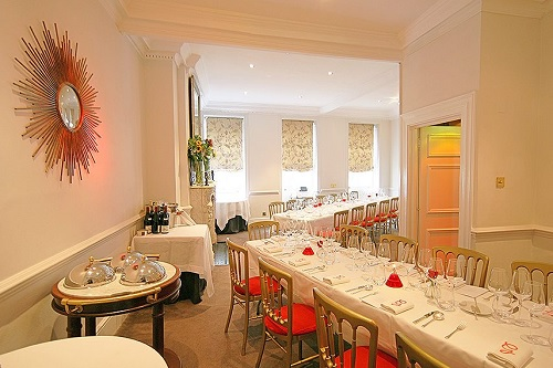 Gauthier Soho Private Dining Venue- Best Venues London