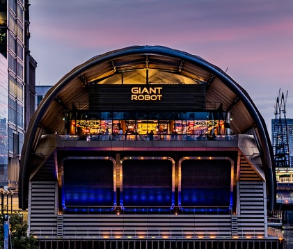 Giant Robot Canary Whart - Best Venues London