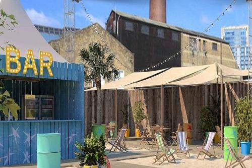 London City Beach Pop Up Venue - Best Venues London