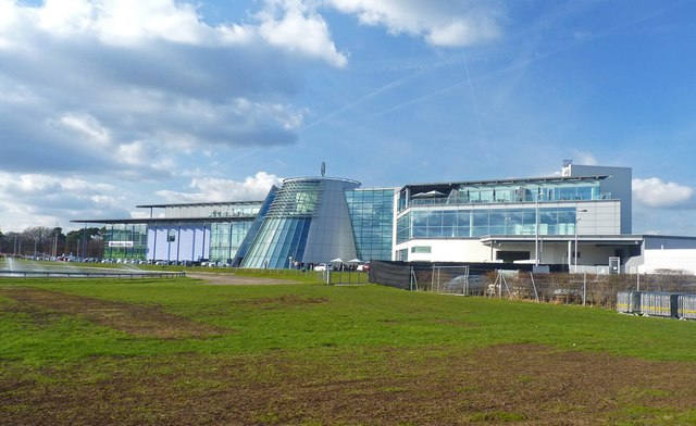 Mercedes Benz World from the outside