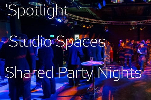 Spotlight Christmas Party at Studio Spaces - Best Venues London