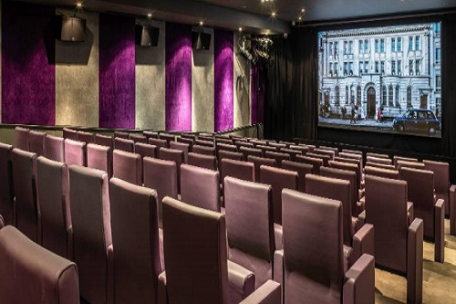 The Courthouse Hotel Private Screening Room