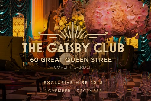 The Gatsby Club Christmas Party 2018 - Best Venues London
