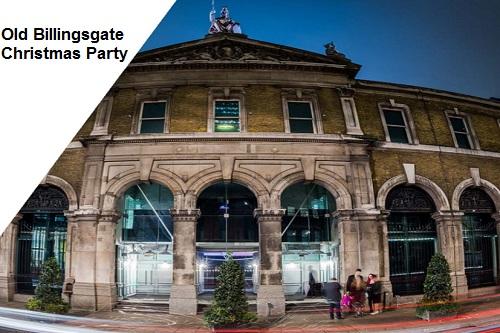 The Old Billingsgate Christmas Party Venue - Best Venues London