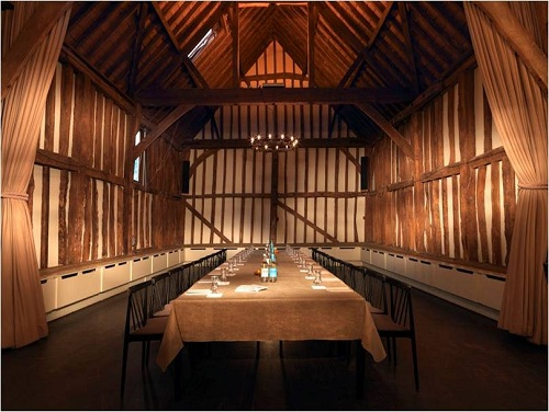 The Tithe Barn Boardroom at The Olde Bell