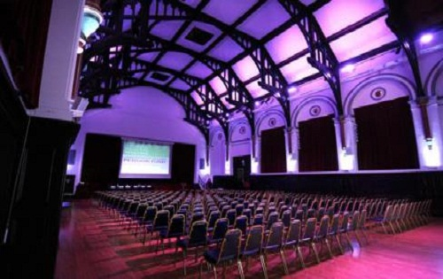 Town Hall Venue For Conferences. Parties, Functions