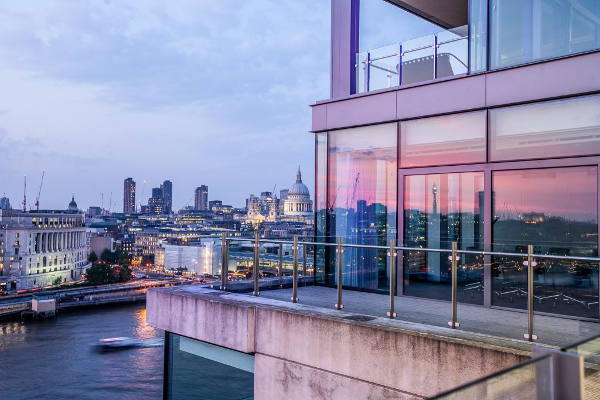 Venue with a view over London