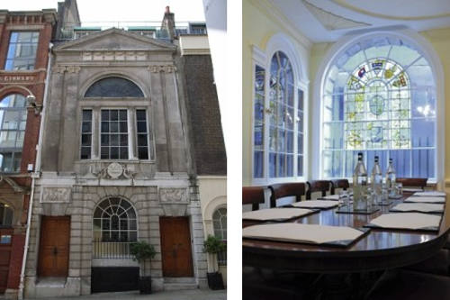 Watermens Hall Interior and Exterior