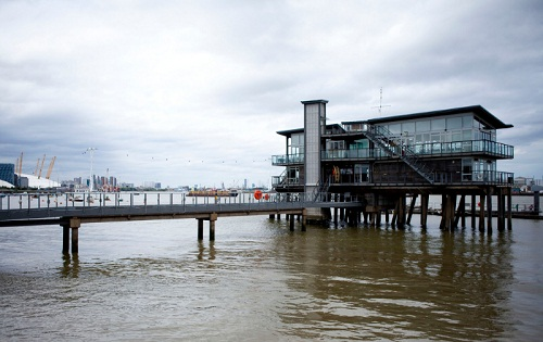 The Greenwich Yacht Club on the River Thames