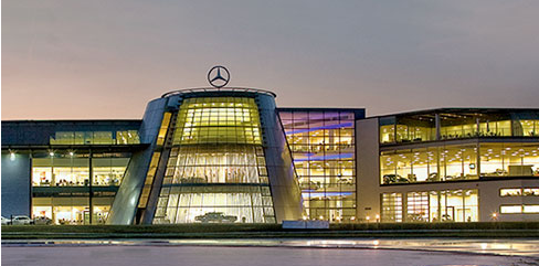 Mercedes benz world best venues london for Mercedes benz london