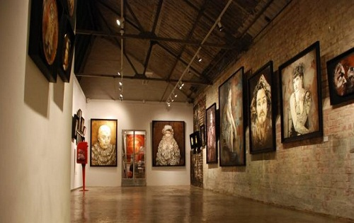 spacious gallery venue for hire in London