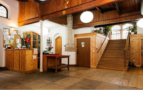 Foyer & reception area